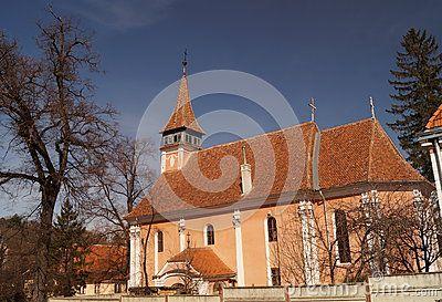 Lutheran Evangelical Church, Schei, Brasov, Romania Biserica Evanghelica Luterana