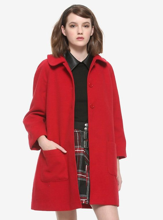 Chilling Adventures Of Sabrina Girls Red Coat in 2020 ...