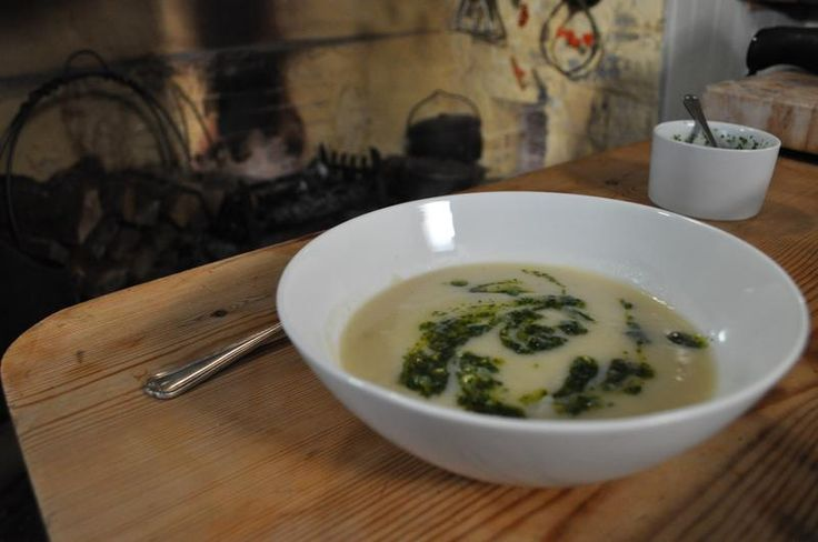 Celeriac soup: take advantage of the lovely taste of celeriac and a range of seasonal vegetables with this hearty warming soup.