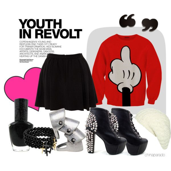 """Youth In Revolt"" by chinaparado on Polyvore"