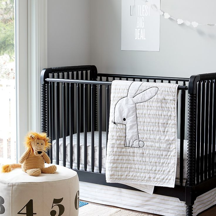 Jenny Lind Crib (Black)|The Land of Nod
