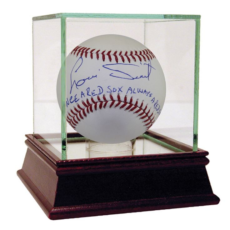 "Steiner Luis Tiant Autographed Baseball w/ ""Once a Red Sox, Always a Red Sox"" Inscription"