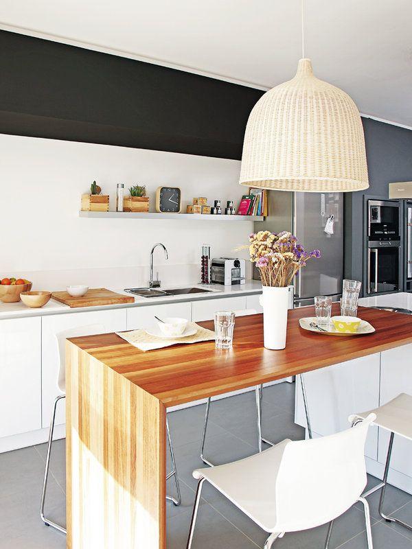 ideas y estilos comedores en la cocina