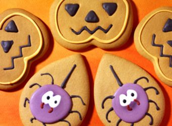 Biscuits d'Halloween - une recette Gâteau - Cuisine
