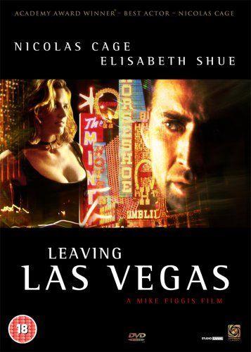 Nicolas Cage and Elisabeth Shue in Leaving Las Vegas, 1995