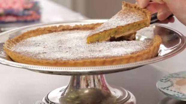 Türkische Pistazien-Marzipan-Tarte - Enie backt - Sweet & Easy