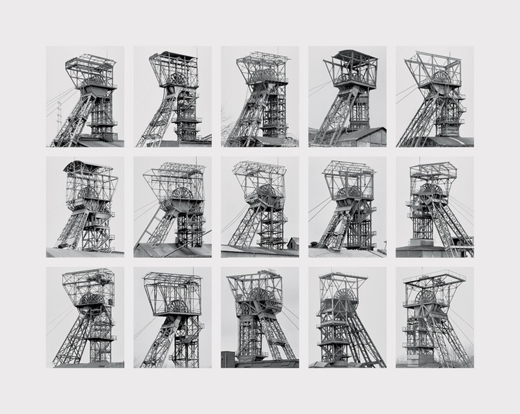 01. ARCHIVE ***************** [Bernd and Hilla Becher 'coal breaker']