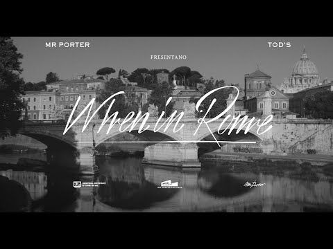 5 Things To Do In Rome With Tod's - YouTube