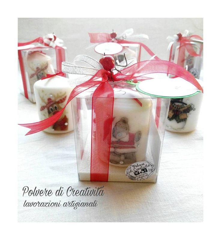 Candele Personalizzate Hasndmade, by Polvere di Creatività - lavorazioni artigianali, 5,50 € su misshobby.com
