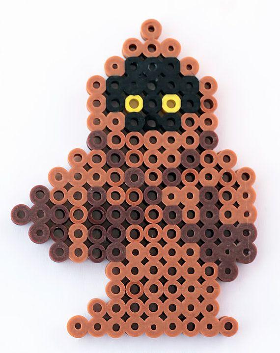 Star Wars Jawa perler beads by ThePlayfulPerler