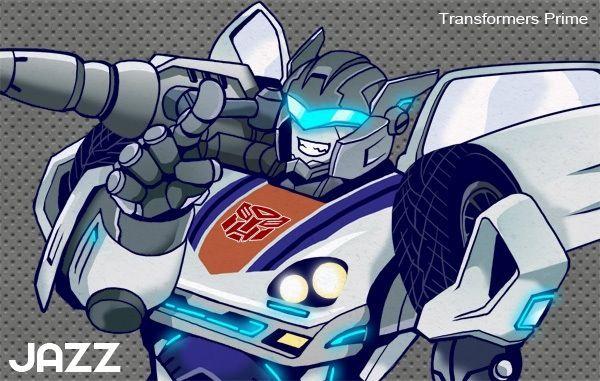 Jazz ~ Transformers Prime