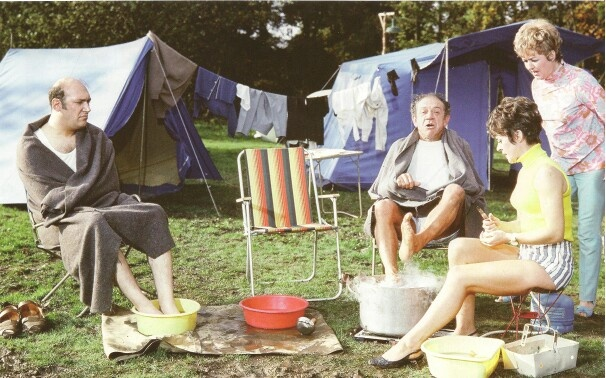 "Carry on films like this one ""Carry On Camping "" are favourites of mine."