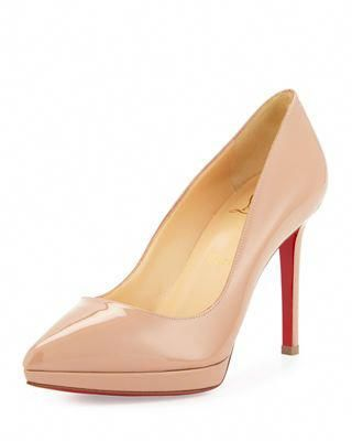 fd556ee36499 Christian Louboutin Pigalle Plato Patent Red Sole Pump  ChristianLouboutin