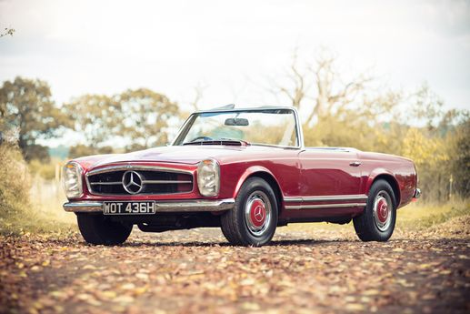 1969 Mercedes-Benz 280SL Pagoda - Silverstone Auctions