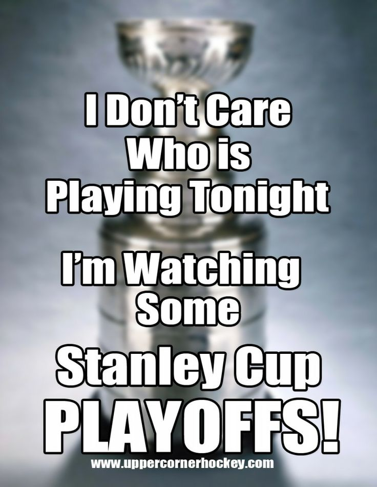 hockey memes | Stanley Cup Playoff Hockey Meme