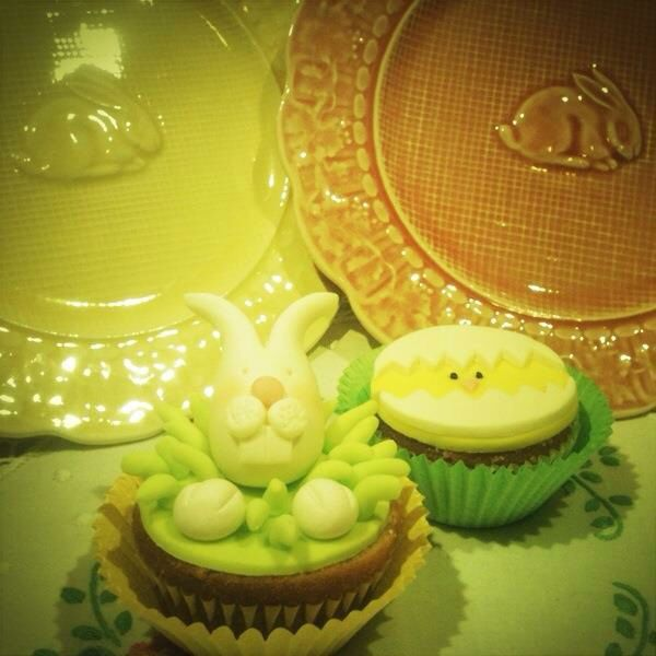 Easter cup cakes