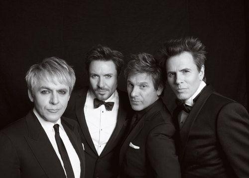 Still handsome. Duran Duran in Paper Magazine.
