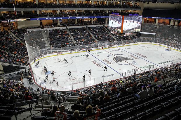 Lehigh Valley Phantoms game... Two tickets, please :)