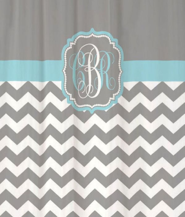 Chevron Shower Curtains 26 best shower curtains images on pinterest | monogram shower