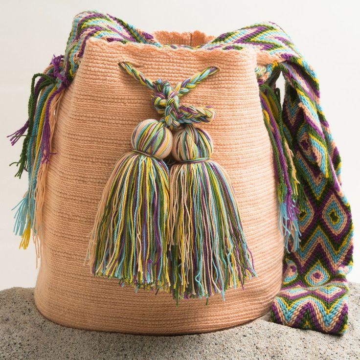 Hermosa Wayuu Mochila | WAYUU TRIBE – WAYUU TRIBE | Handmade Bohemian Bags 128