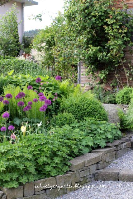 purpur wunderkugeln der zierlauch ein schweizer garten gartenideen pinterest zierlauch. Black Bedroom Furniture Sets. Home Design Ideas