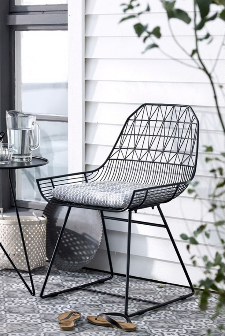 25+ Best Ideas About Wire Chair On Pinterest