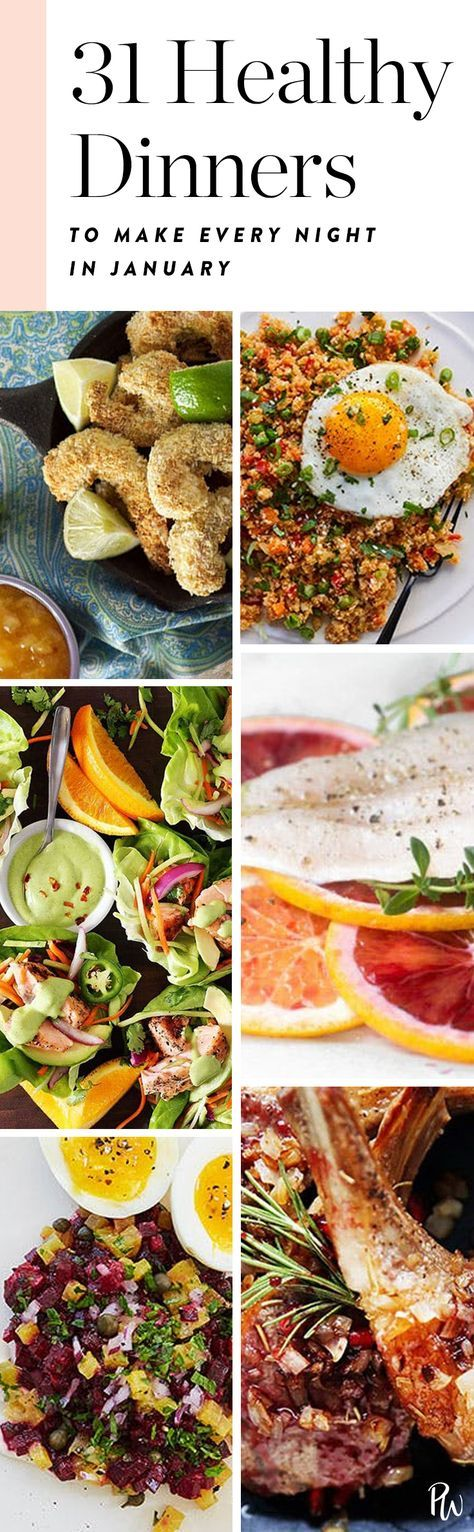 31 Low-Maintenance Clean Eating Dinner Recipes to Make Every Single Night in January. These clean eating recipes that are delicious, easy to make and guaranteed to satisfy. #januarydinners #winter #healthydinners #eatclean #cleaneating #cleaneatingdinners