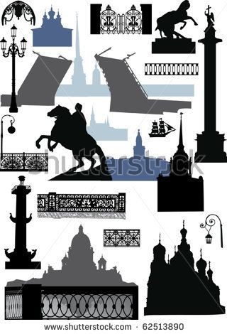 St. Petersburg Silhouettes