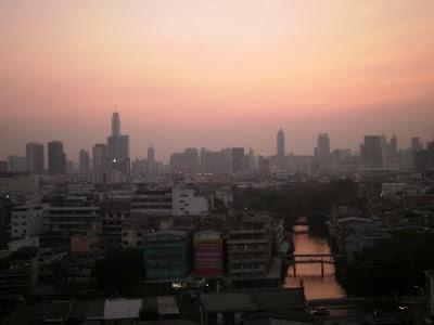 Bangkok sunrise, Thailand