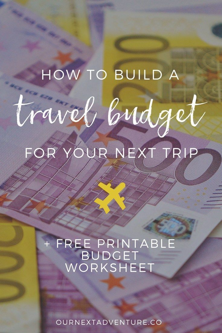 + Free Printable. Create a family travel budget you know you can afford. // Budget Travel | Travel with Kids | Vacation Planning