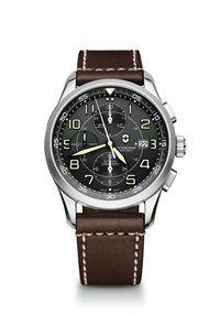 Pánske Hodinky AirBoss 241597 Swiss-made automatický strojček Valjoux 7750, presnosť merania chronografu až 1/4 sekundy, priemer púzdra: ø 42mm