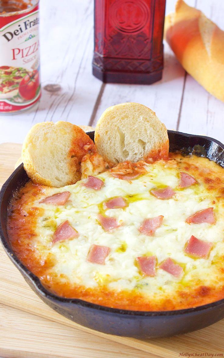 Minus the ham - hawaiian-pizza-dip| HollysCheatDay.com