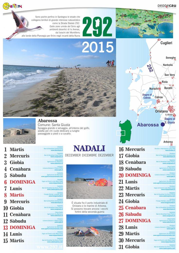 Dicembre 2015 del calendario in lingua sarda scaricabile free da http://www.ecau.it/2015/dicembre/