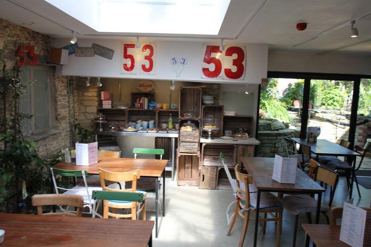 Cafe 53 garden room extension