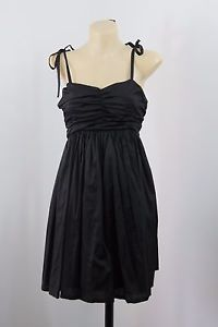 NWT Size M 12 LUSH Ladies Black Dress Casual Cocktail Boho Gypsy Party Design  | eBay