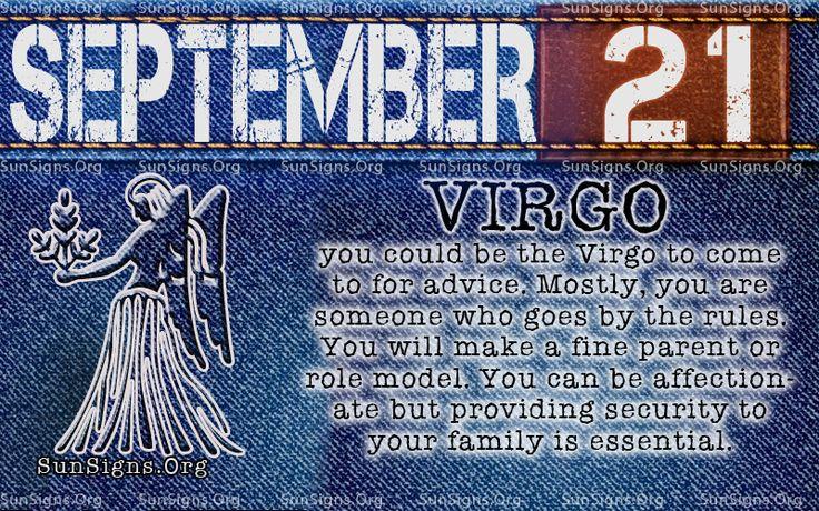 september 21 virgo birthday calendar