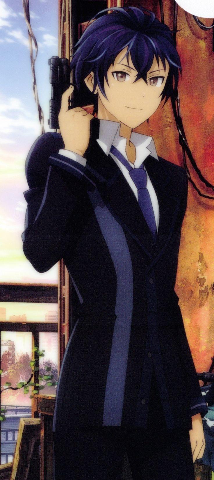 Rentaro Satomi [Black Bullet • Burakku Buretto] <3 <3