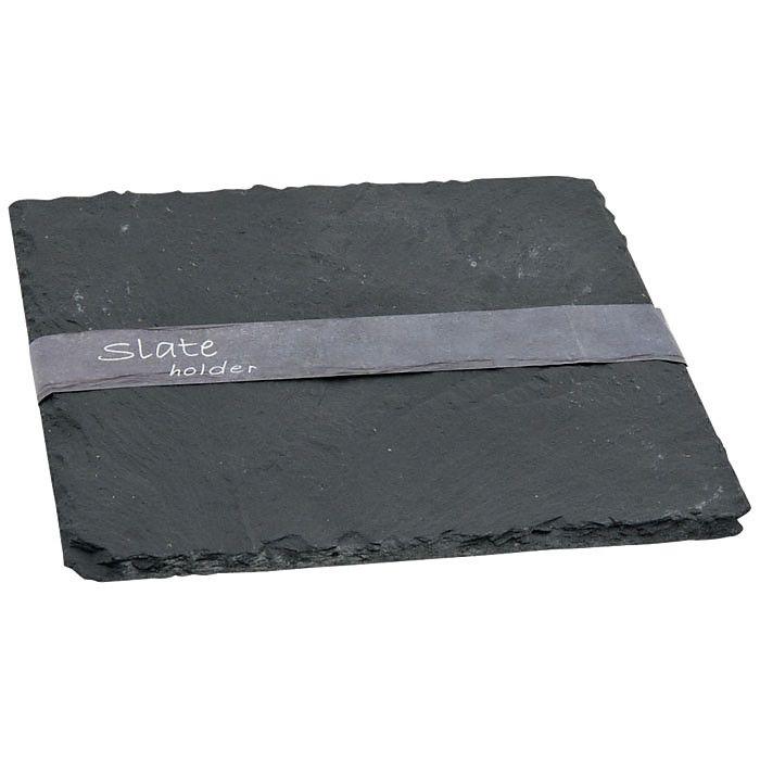 Schieferplatte grau ca B:20 x L:20 cm