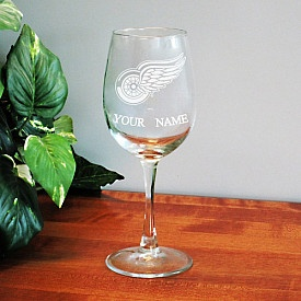 Boelter Detroit Red Wings Customized Wine Glass - Shop.NHL.com