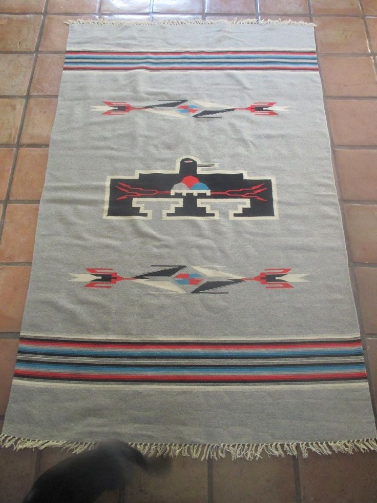 1000 Images About Mexican Navajo Blanket Vintage Chimayo