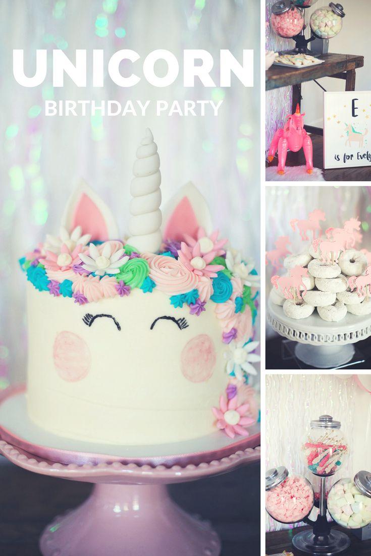 1000 Ideas About Unicorn Birthday Parties On Pinterest