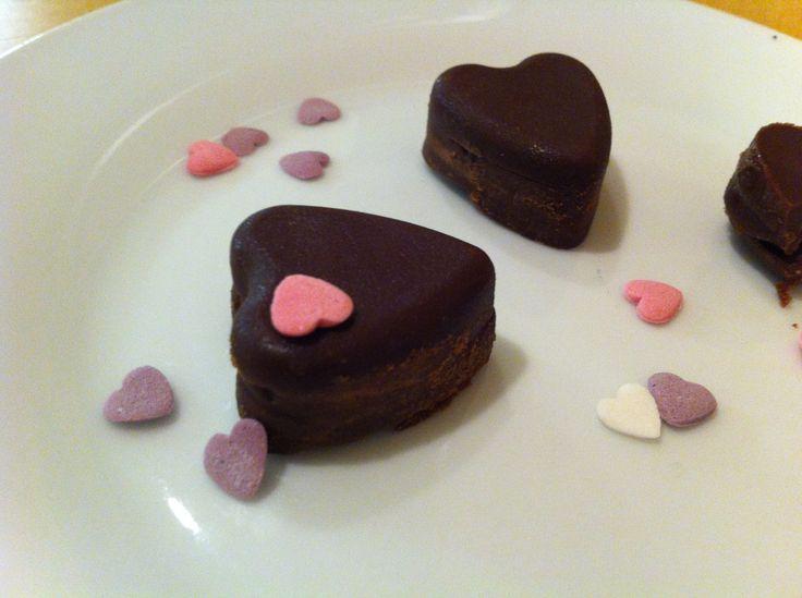 Cioccolatini di San Valentino http://blog.cookaround.com/learningcooking/