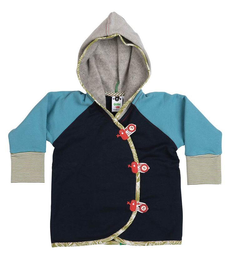Lagoon Hoodie, Oishi-m Clothing for kids, Autumn 2017, www.oishi-m.com