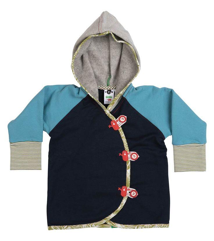 Lagoon Hoodie, Oishi-m Clothing for kids, Autumn 2017, www.oishi-m.com