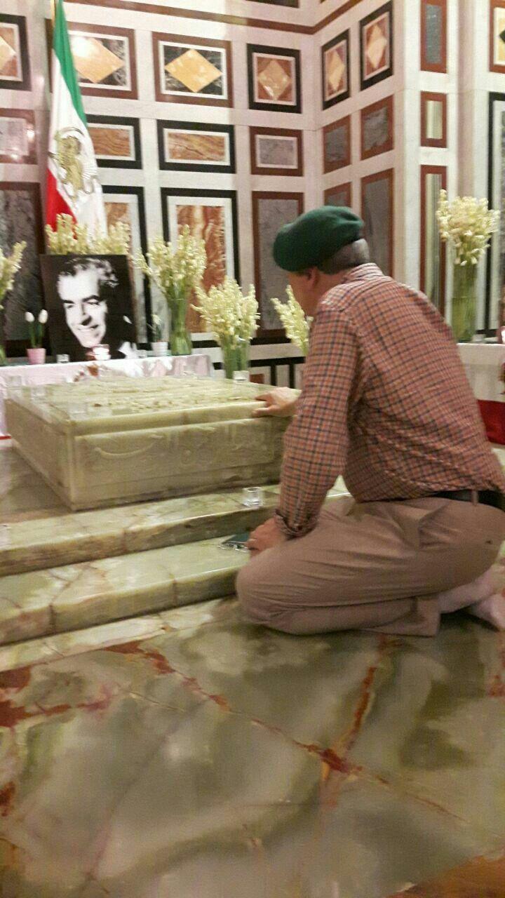 آرامگاه شاهنشاه فقید ایران محمد رضاشاه پهلوی در مسجد ارفاعی مصر قاهره de791bc1fa