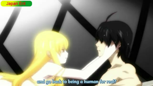 Nisemonogatari episode 4 Shinobu gives Araragi a chance to become a human again Karen Bee, Part Four