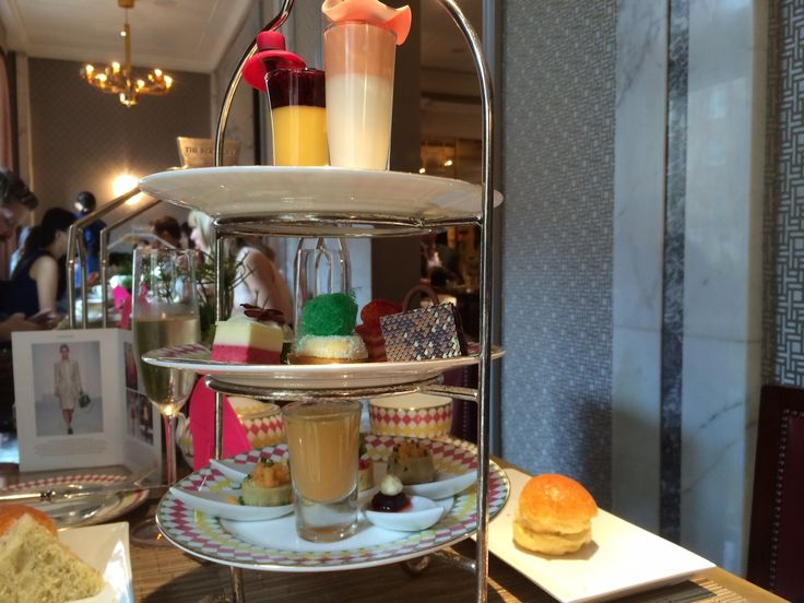Where afternoon tea is all the fashion