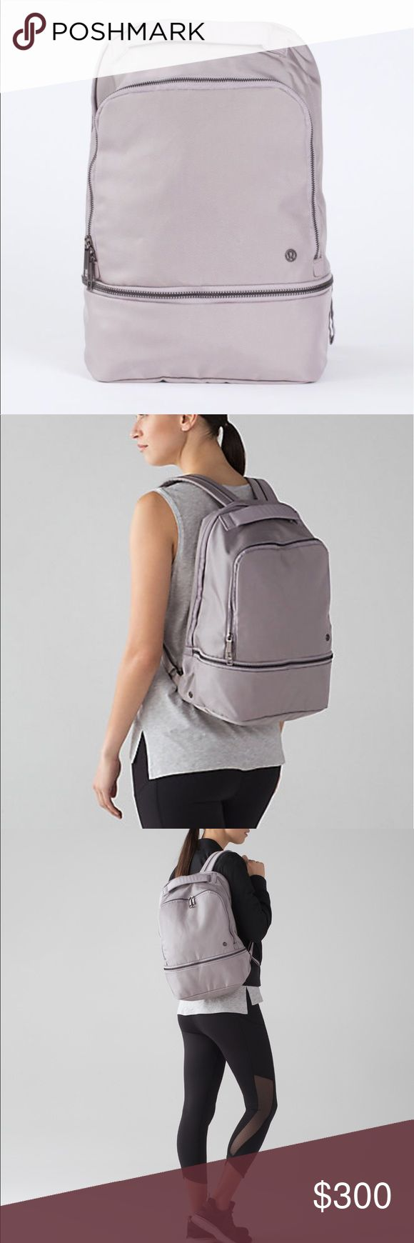 Lululemon Go Lightly Backpack Brand New with tags lululemon Go Lightly backpack in color: dark chrome. This item is rare and sold out online and in store!! lululemon athletica Bags Backpacks