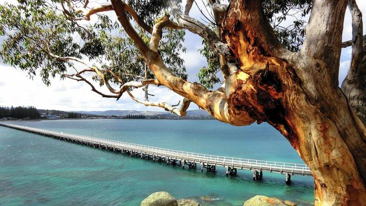Causeway from Victor Harbour to Granite Islandd