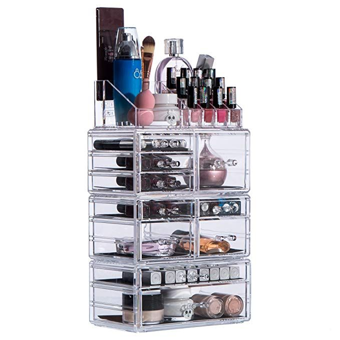 Cq Acrylic Jewelry And Cosmetic Storage Drawers Display Makeup
